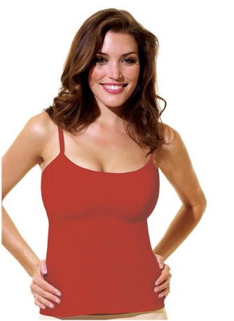 This is a(n) image of red camisole