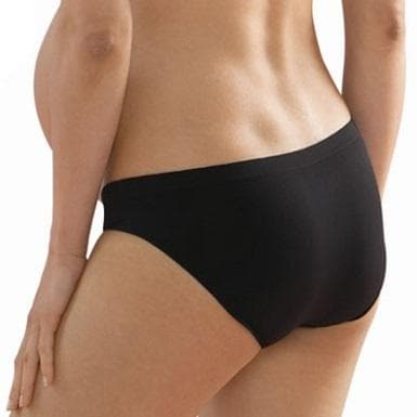 Anita 1504 Black Seamless Maternity Brief