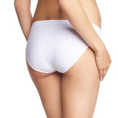 Anita 1504 White Seamless Maternity Brief
