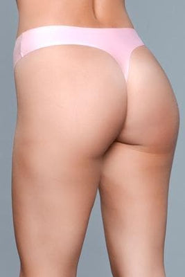 Be Wicked Roxy 1850 Pink Seamless Thong