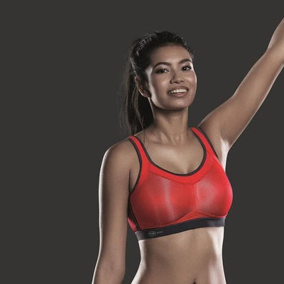Anita Momentum 5529 Red Maximum Support Sports Bra