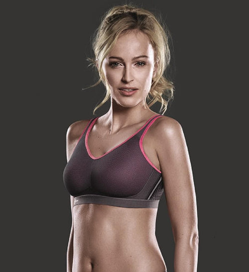 Anita 5533 Pink/Anthracite Maximum Support Air Control Sports Bra
