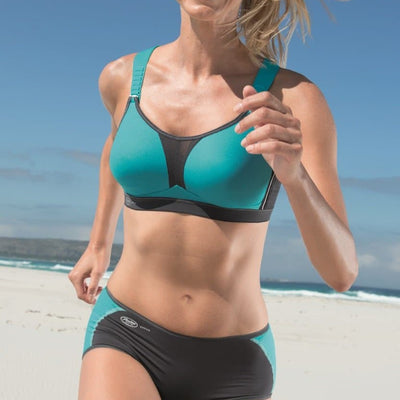 Anita 5537 Peacock/Anthracite Dynamix Star Maximum Support Sport Bra