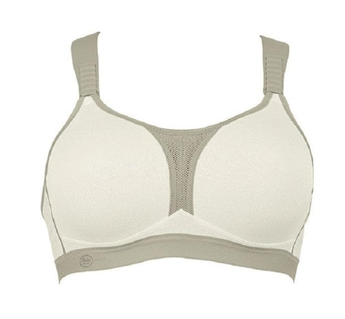 Anita 5537 White Mettalic Dynamix Star Maximum Support Sport Bra