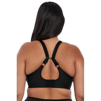 Elomi Lydia EL4390 Black Band less Underwire J hook Bra