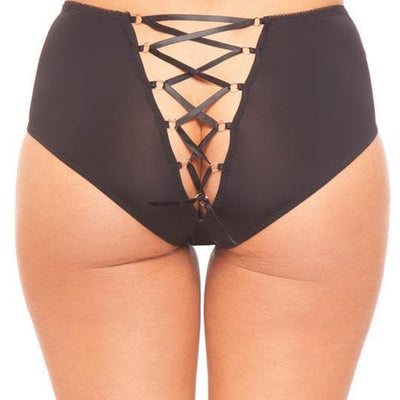 Be Wicked BW1705 Lace Me Up Brief