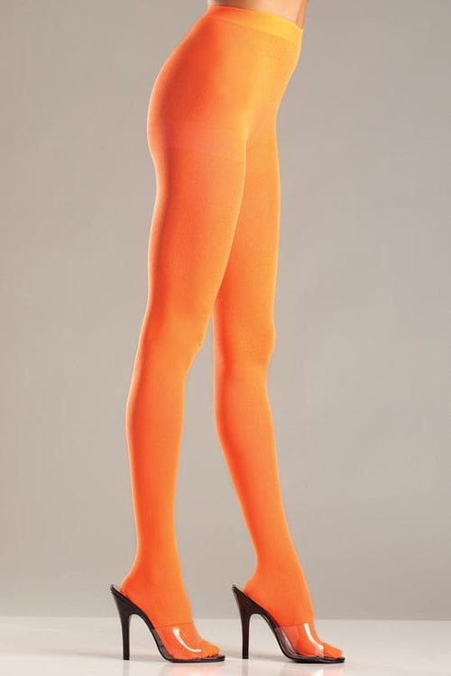 Be Wicked BW620 Orange Pantyhose