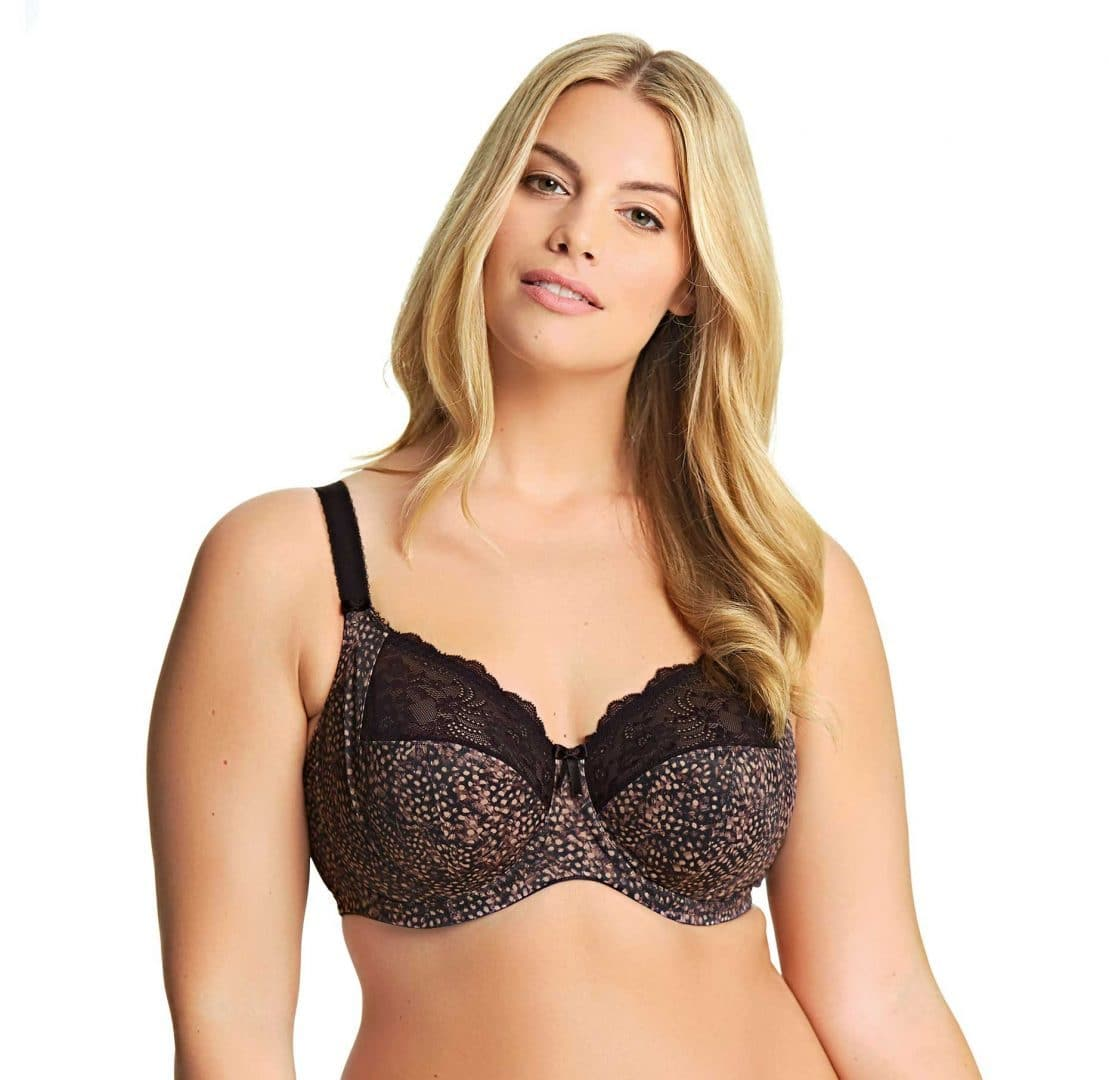 Elomi Morgan EL4110 Ebony UW Banded Stretch Bra