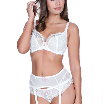 Freya Fancies AA1011 White Plunge Bra