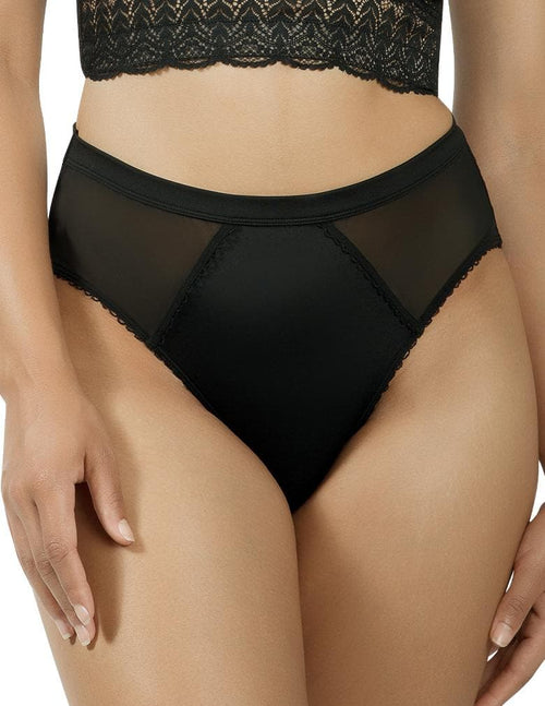 Parfait PP306 Black Micro Dressy French Cut Panty