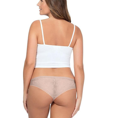 Parfait So Glam Stretch Lace Bikini Brief Bare PP302 cheeky back