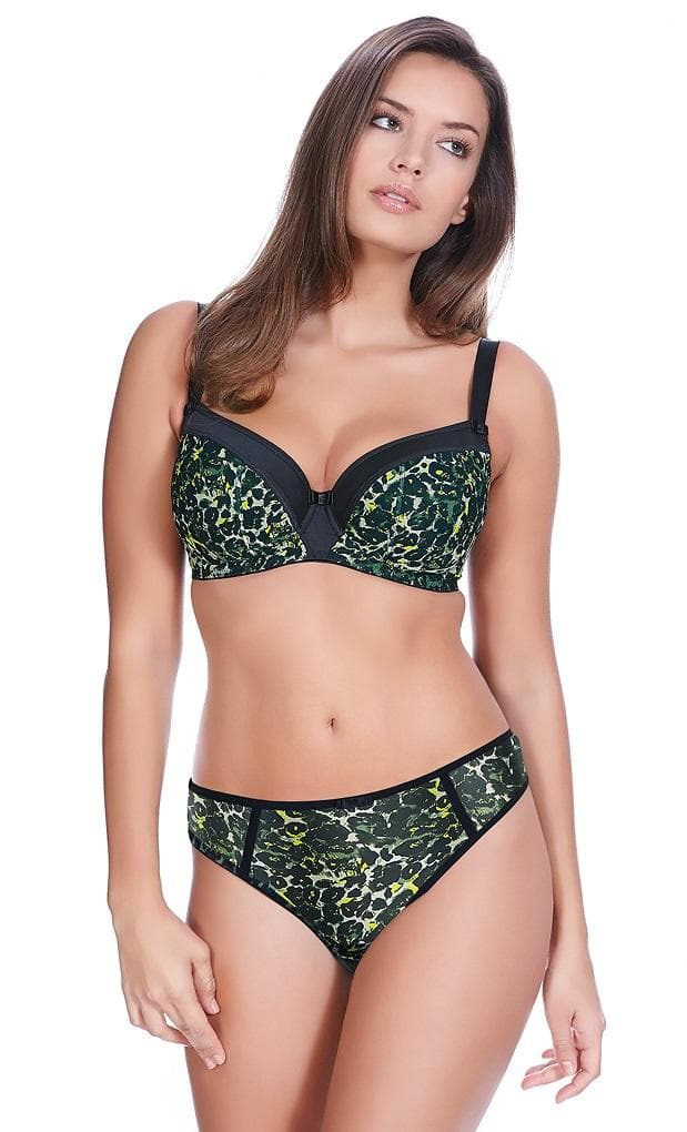 Freya Pin UP AA5092 Black UW Padded Half Cup Bra
