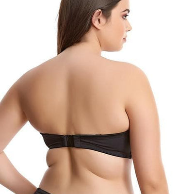 Elomi Essentials ES7532 Black Underwire  Bandeau Bikini Top