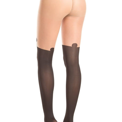 Be Wicked BW404 Sheer Pantyhose With Panda Design