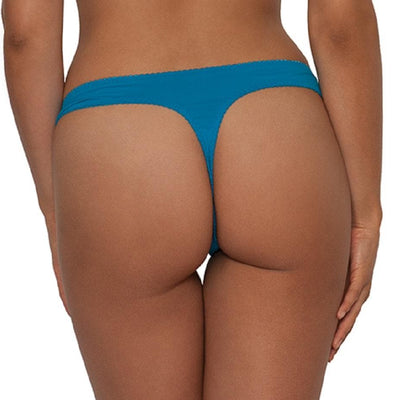Curvy Kate Women's Cascade CK3602 Pacific Blue Thong