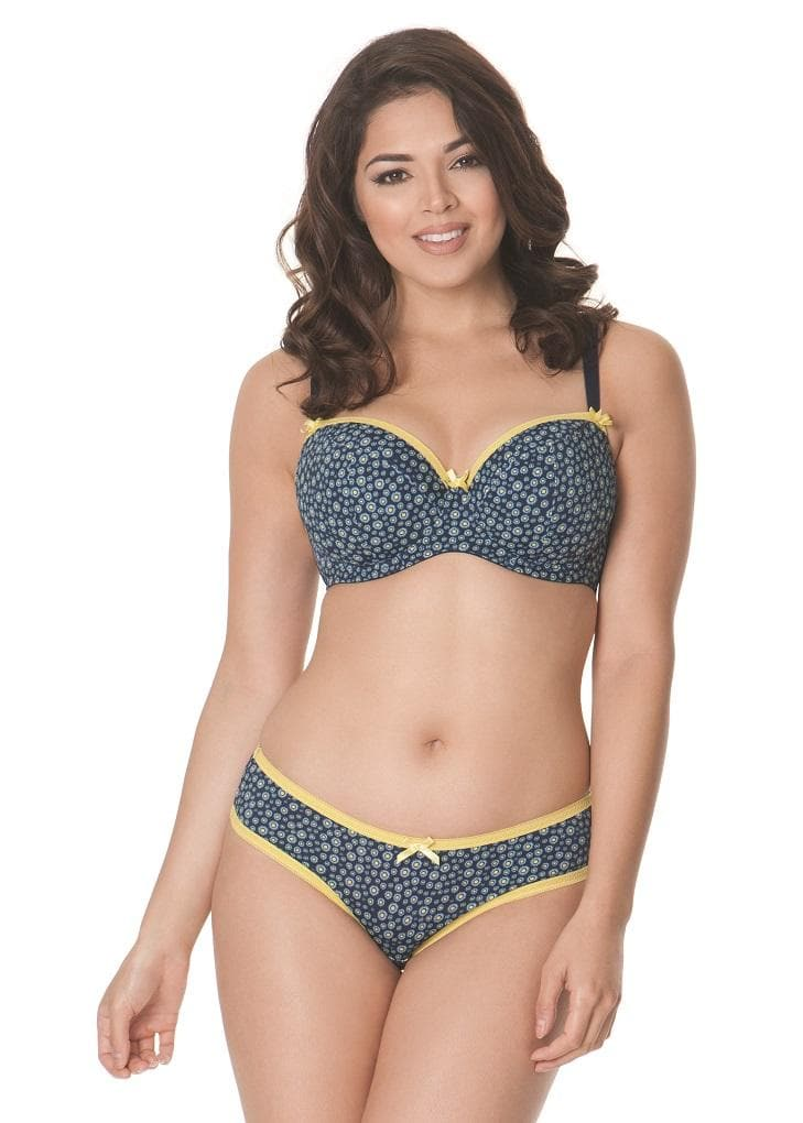 Curvy Kate CK4501 Daily Dream UW Moulded Padded Bra Blueberry Mix