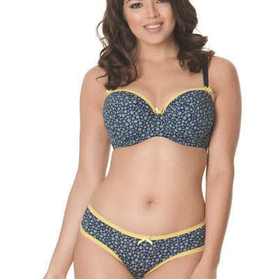 Curvy Kate Daily Dream CK4501 UW Molded Padded Bra Blueberry Mix