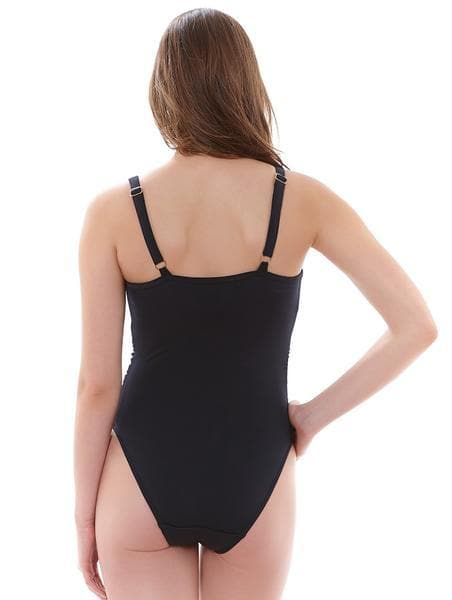 Freya Deco AS3870 Black Underwire Moulded  One Piece SwimSuit