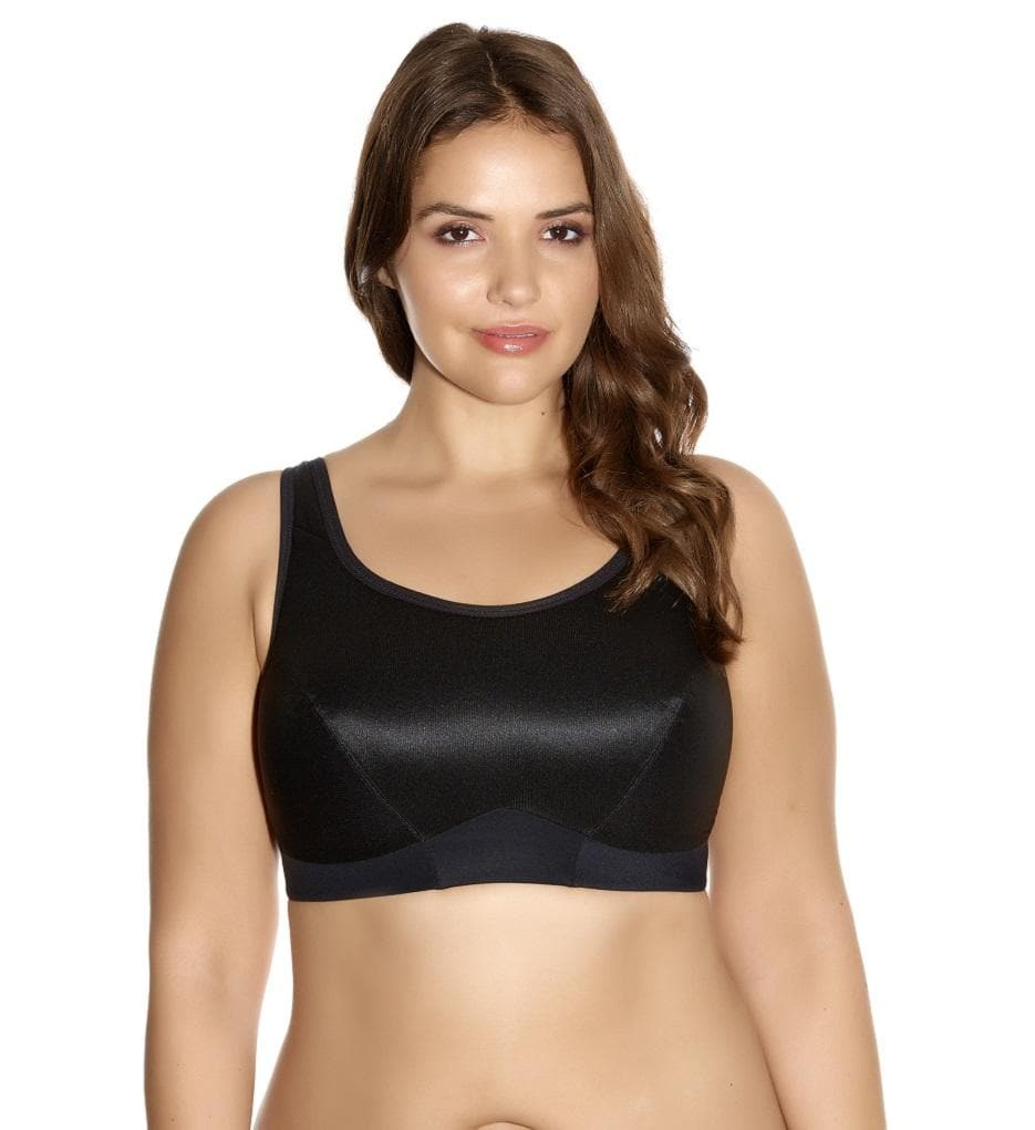 Goddess GD5056 Black Wire Free Sports Bra