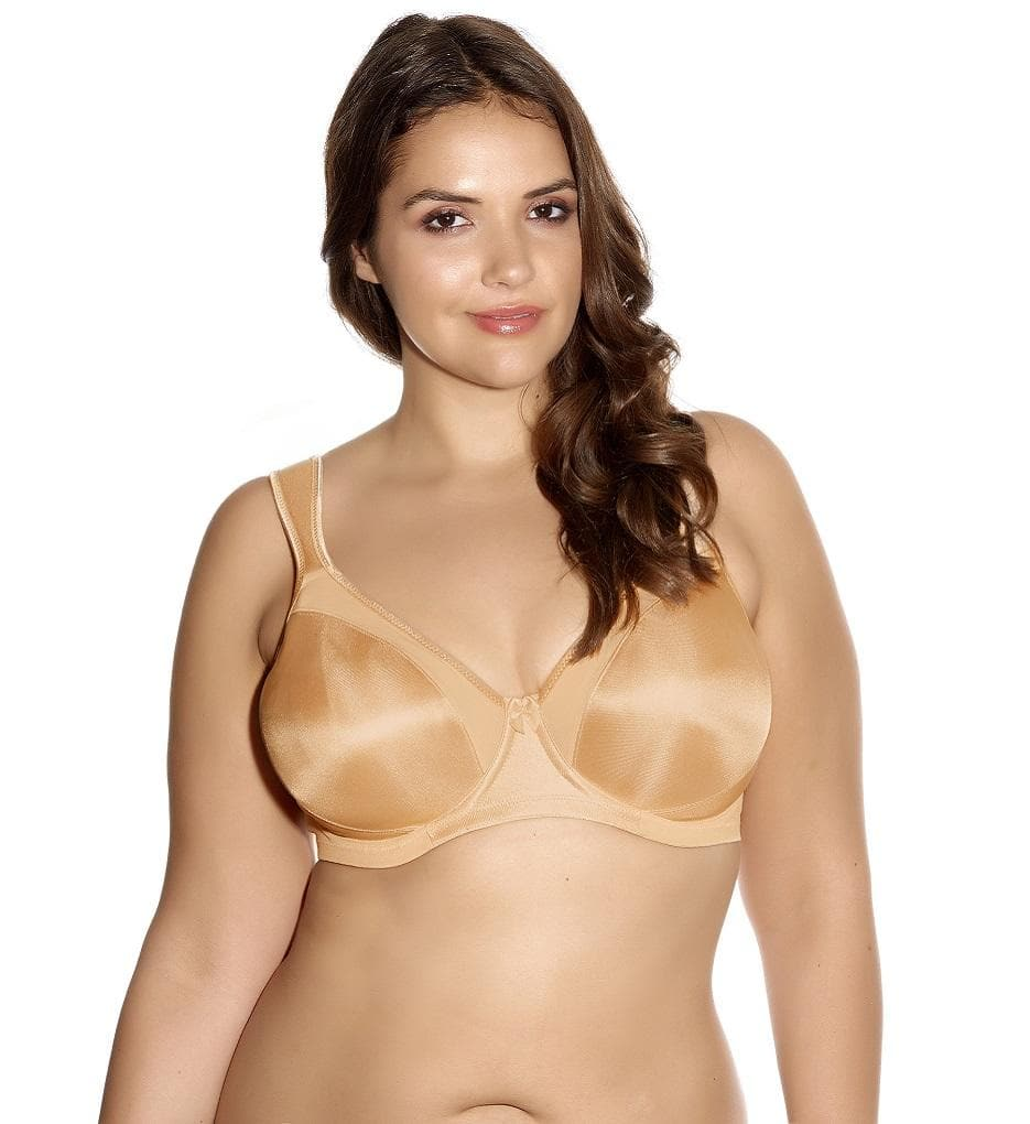 Goddess Hannah GD6131 Nude UW Moulded Side Support Bra