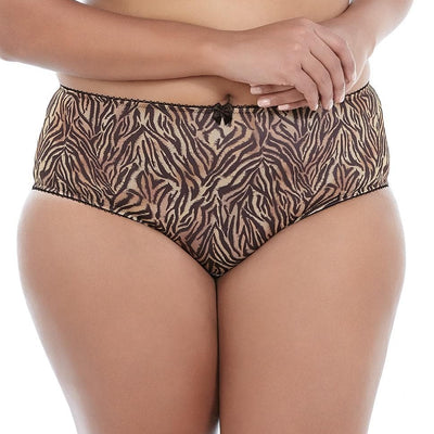 Goddess Kayla GD6168 Tiger Chocolate Brief