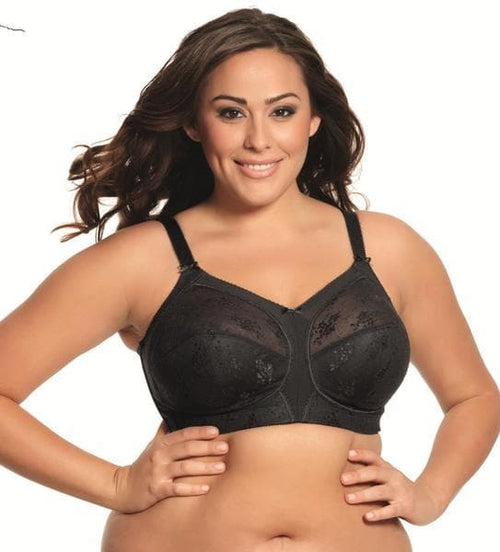 Goddess Alice GD6040 Black Wire Free Soft Cup Bra
