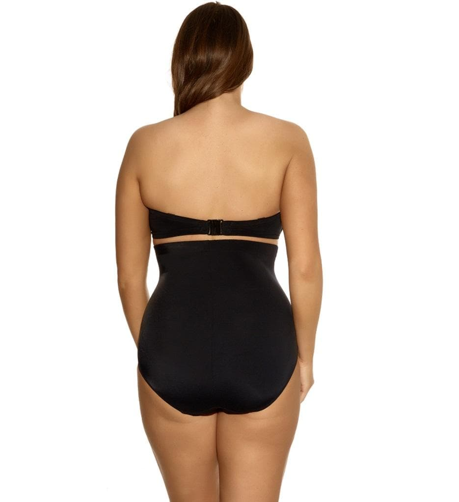 Elomi Essentials ES7604 Black High Waist Swimwear Brief