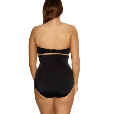 Elomi Swim Essential ES7604 Black High Waist Swimwear Brief