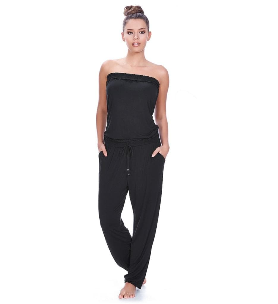 Freya Jetset AS3420 Black Swimwear Jumpsuit Small