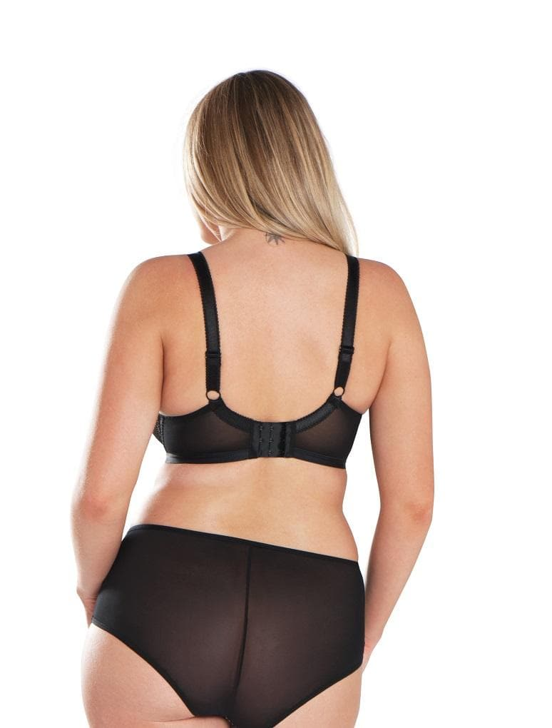 Curvy Kate Jinx SG5503 Black Almond Showgirl Boyshort Panty