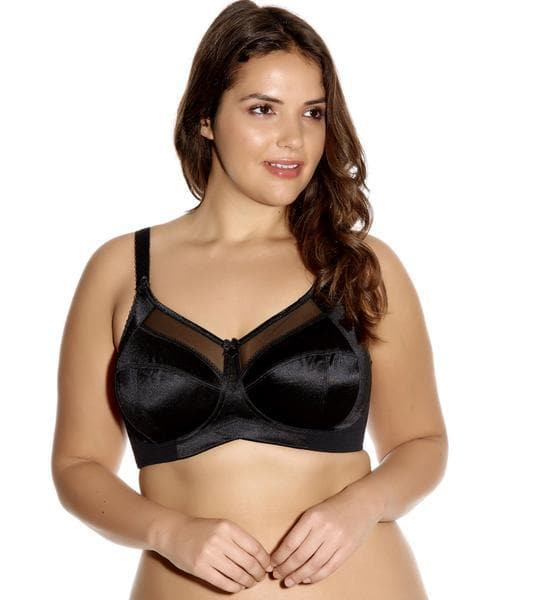 Goddess Keira GD6093 Black  Banded Soft Cup Wire Free Bra