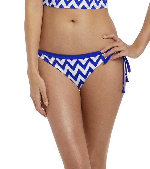 Freya Making Waves Cobalt AS2951 Italian Tie Side Bikini