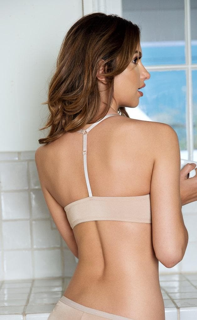 Parfait Lynn P13122 European Nude Y Back Front Closure Bra