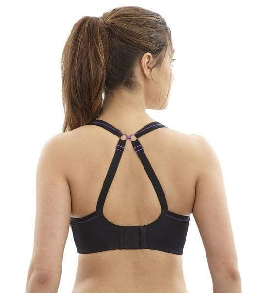 Panache 7341 Black Wirefree Convertible Sports Bra