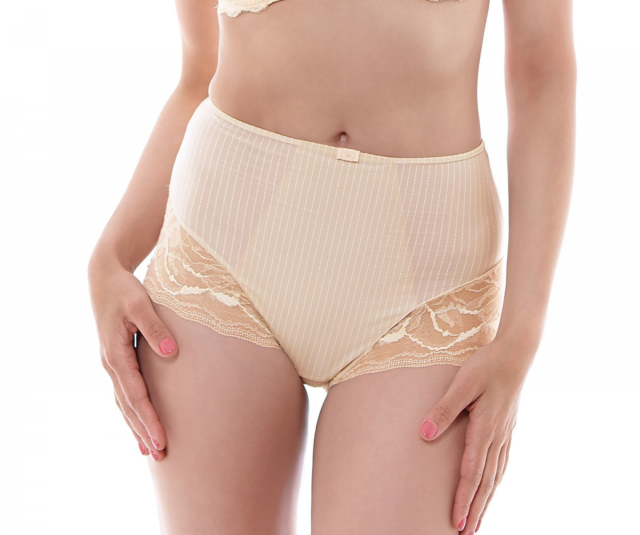Fantasie FL9268 Zoe High Waist Brief Soft Beige