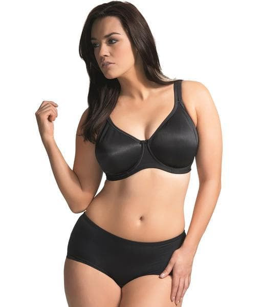 Elomi Smoothing EL3911 Black Underwired Seamfree Bra