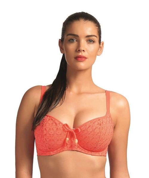 Freya Spirit AS3902 UW Sweetheart Coral Color Padded Bikini Top Swimwear