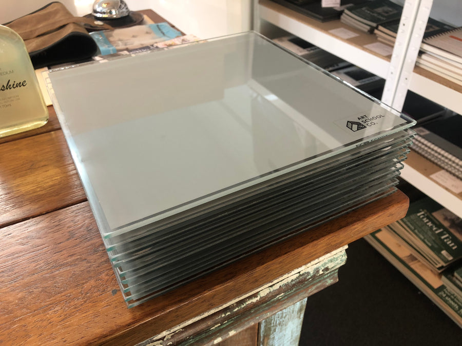Toughened Glass Painting Palette