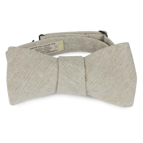 CURSOR & THREAD  -  HATCH (OAT) BOW TIE