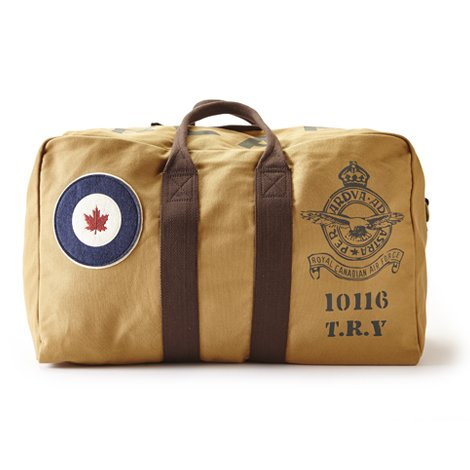 RED CANOE - RCAF LARGE KIT BAG