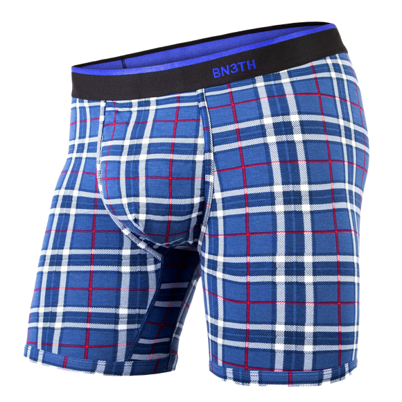 BN3TH CLASSIC BOXER BRIEF - FIRESIDE PLAID (NAVY)