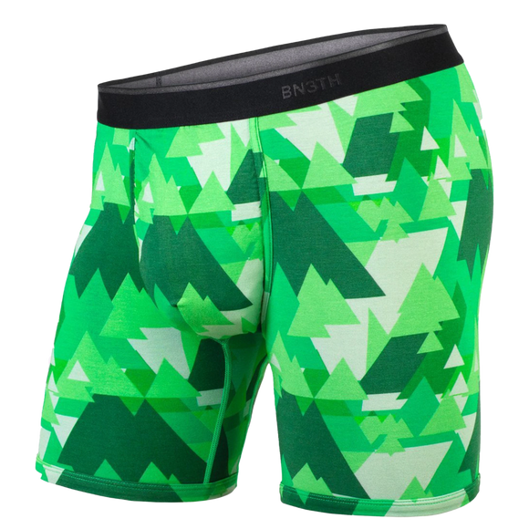 BN3TH CLASSIC BOXER BRIEF - GEOTREES (GREEN)
