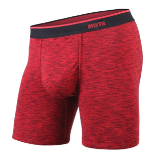 BN3TH CLASSIC BOXER BRIEF - HEATHER RED