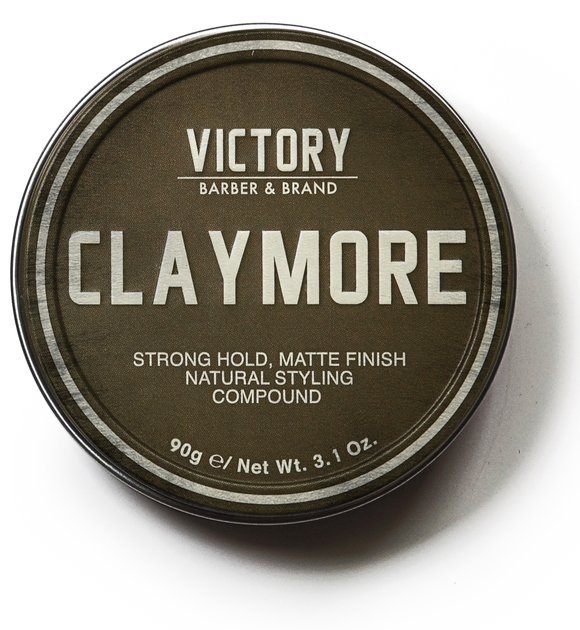 VICTORY BARBER & BRAND - CLAYMORE STYLING CLAY