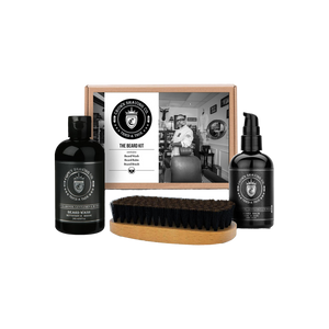 CROWN  SHAVING CO. - BEARD KIT