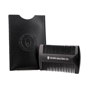 CROWN SHAVING CO. - BEARD COMB
