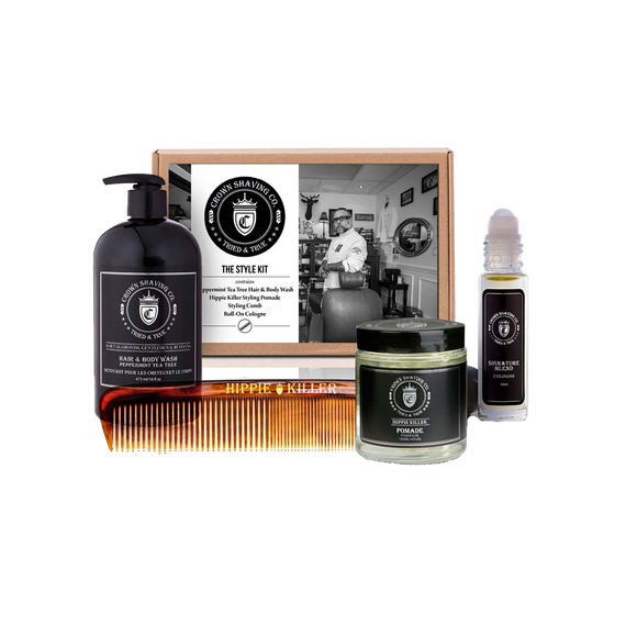 CROWN SHAVING CO. - STYLE KIT
