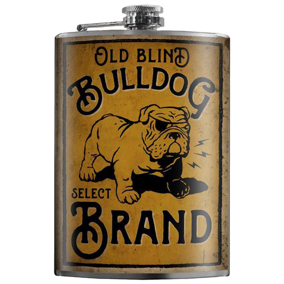 TRIXIE & MILO - BULLDOG FLASK