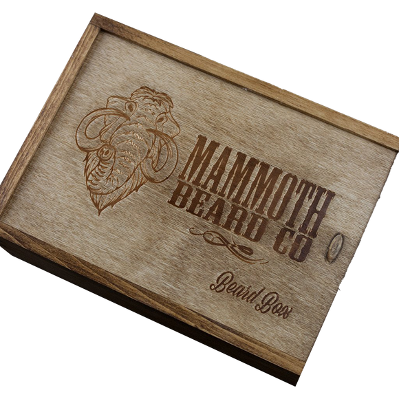 MAMMOTH BEARD CO. - THE DEVIL'S RESERVE BEARD BOX