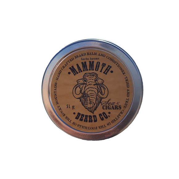 MAMMOTH BEARD CO. - SEX & CIGARS BEARD BALM